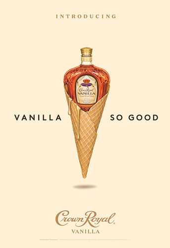 GIANT ARTISTS : Justin FANTL for Crown Royal Vanilla