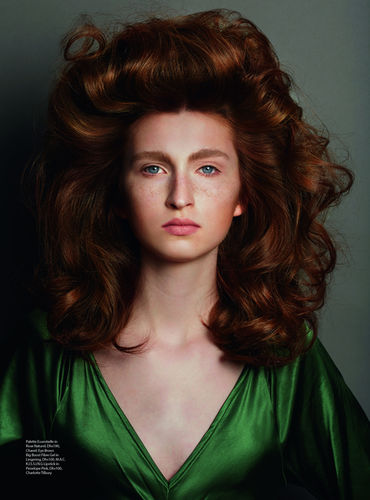 EDITORIAL SHOOTING FOR HARPERS BAZAAR by Winteler Production