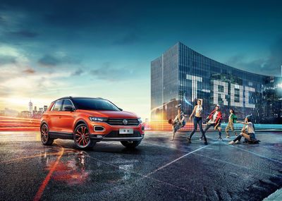 WE! SHOOT IT for Dentsū and FAW Volkswagen