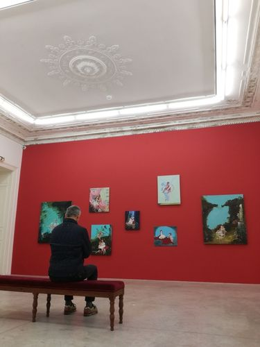 ALMINE RECH GALLERY PARIS : Genieve Figgis ' Wish you were here'