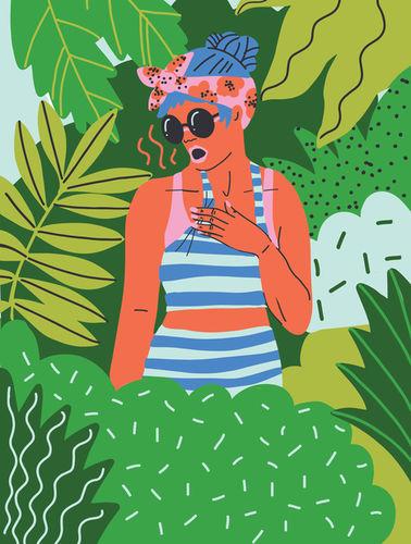 Glamour Travel Guide by Kim Sielbeck c/o JSR AGENCY