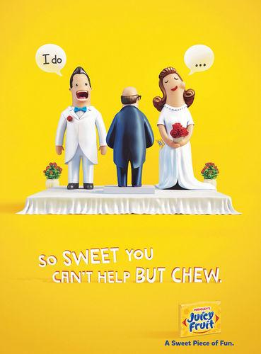 Wrigleys Juicy Fruit campaign by ESTILO3D c/o JSR AGENCY
