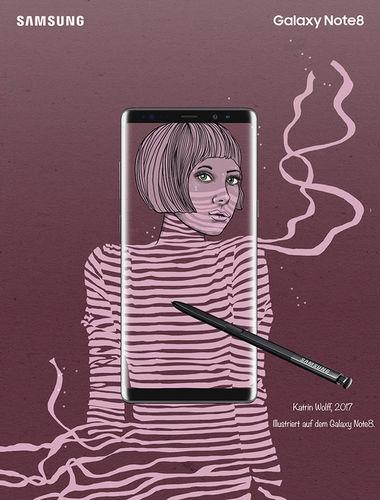 Katrin Wolff Galaxy Note 8