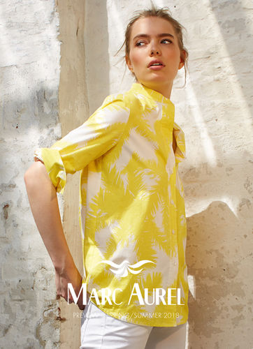 LIGANORD HAMBURG/BERLIN Anja Graf-Pagel / Hair Make-up & Shirin Abbas / Styling für Marc Aurel Spring/ Summer 2018