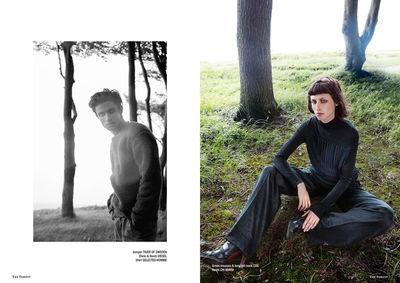 LIGANORD HAMBURG/BERLIN: TINI RATHE / STYLING -  THE FOREST MAGAZINE