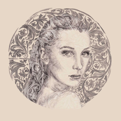 COSMOPOLA   Marie de Beaucourt portrait of Bella Hadid