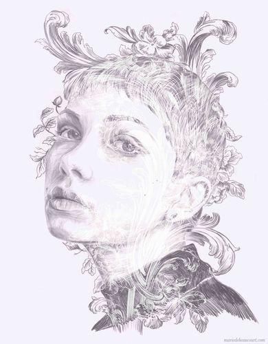COSMOPOLA   Marie de Beaucourt portrait of Tavi Gevinson