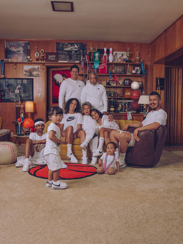 In honor of Mother's Day, Nike created a family series featuring some incredible athletes and their family members, captured by Micaiah CARTER c/o GIANT ARTISTS