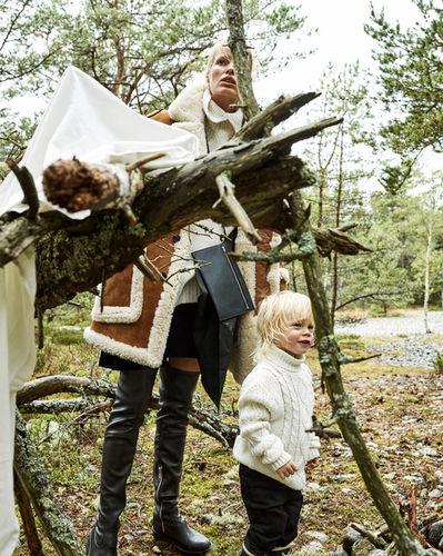 Tobias LUNDKVIST for ELLE Sweden
