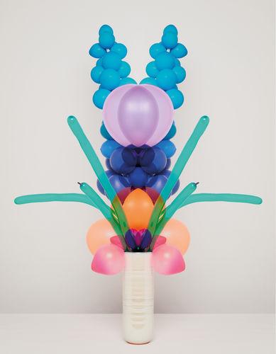 EMEIS DEUBEL: Sarah Illenberger Solid Air Exhibition in collaboration with Marsano Blumen