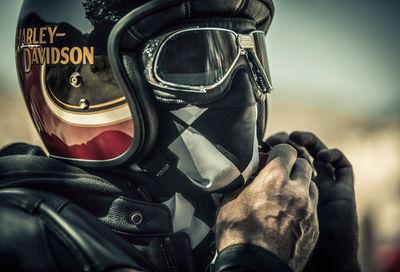 """SEVERIN WENDELER: Patrick Curtet c/o Severin Wendeler """"Harley Davidson"""""""