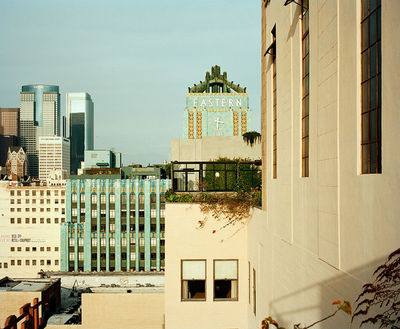 Emily Shur shot 10 different locations in downtown Los Angeles for a story in M, Le magazine du Monde