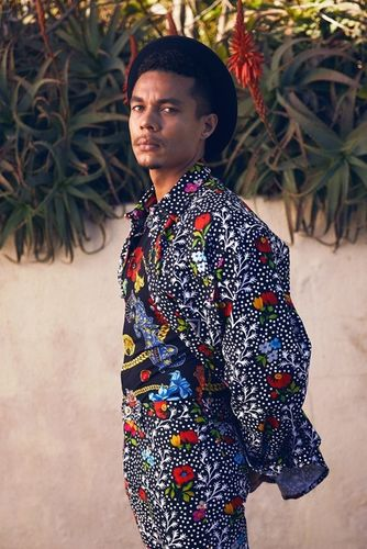 'Breakout Stars Stand Out in Spring Style' by Micaiah Carter c/o Giant Artists for VANITY FAIR