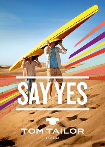 NU PROJECTS Tom Tailor SAY YES