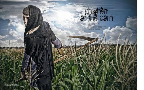 POOL MAGAZINE :children of the corn