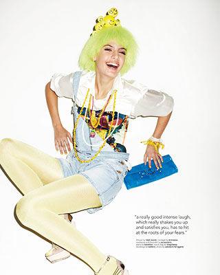 POOL MAGAZINE : laughing as pure joy