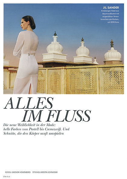 BIGOUDI : Gregor MAKRIS for ELLE