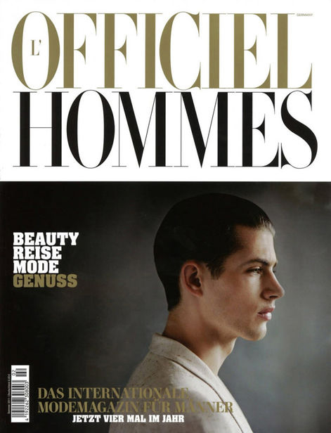SHOTVIEW : Ronald DICK for L'OFFICIEL HOMMES