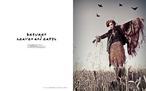 POOL MAGAZINE : between heaven and earth