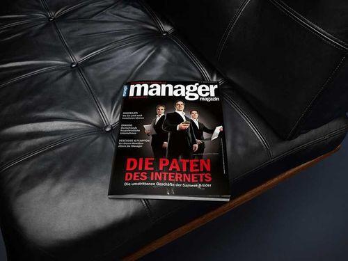 MARION ENSTE-JASPERS : Oliver LIPPERT for MANAGER MAGAZINE