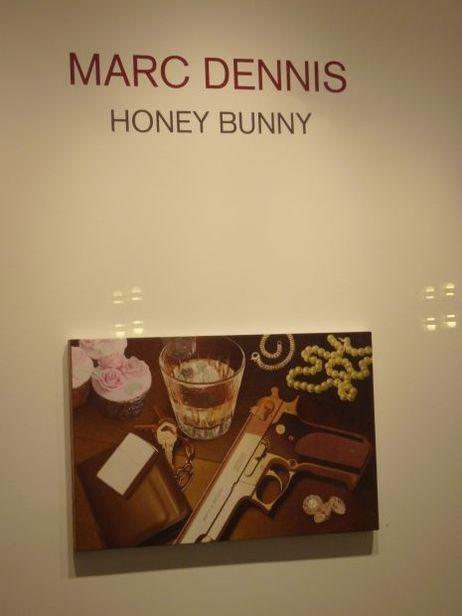Marc Dennis' 'Honey Bunny' at the Hasted Kraeutler Gallery
