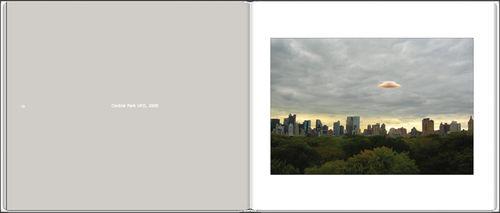 Unexplained Phenomena Project - sample book spread