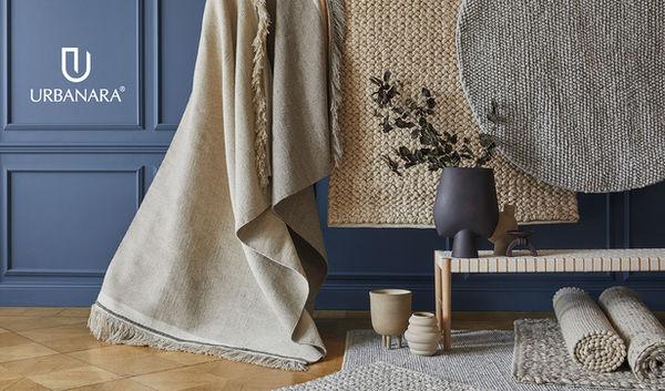 The Fall/Winter ?21 campaign for interior brand URBANARA ? photographed by Brita SÖNNICHSEN c/o NERGER M&O