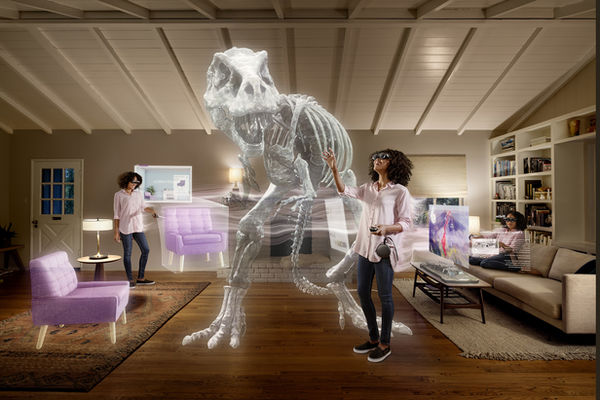 Reality is just beginning ? TOM NAGY photographs the ?Augmented Reality? campaign for MAGIC LEAP, the specialist for head-mounted displays and mixed reality technologies