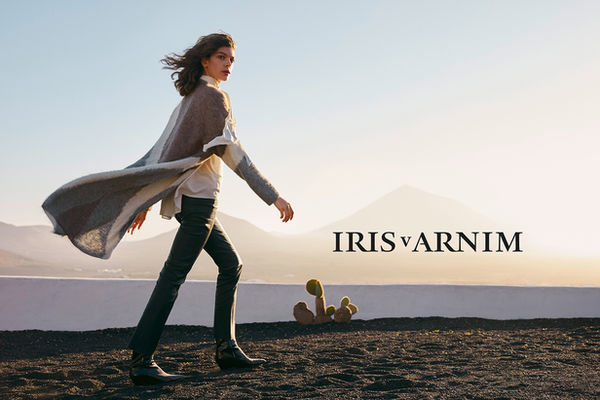 The IRIS VON ARNIM 2020 Pre-collection campaign as an homage to the one and only César Manrique ? photographed by Florian GRILL c/o NERGER M&O in Lanzarote