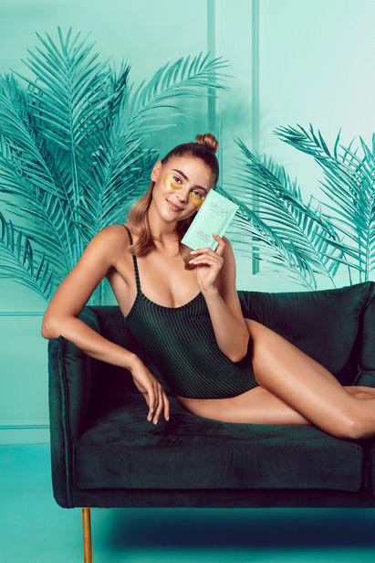 EYECANDY : produces for 'MO? by Stefanie Giesinger', a care series by the top model now available exclusively at the drugstore chain dm