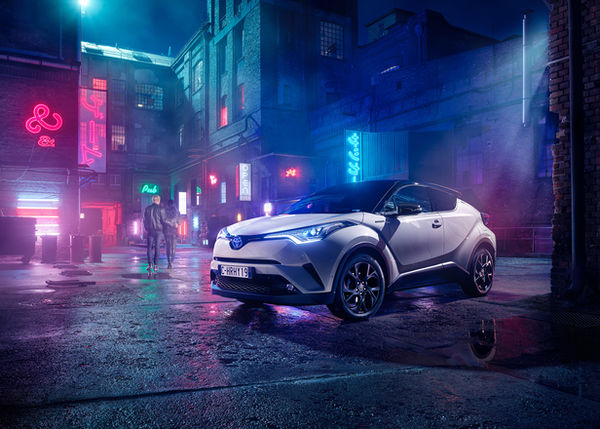 Markus Wendler photographs the global Toyota C-HR campaign for The&Partnership Italia, the Audi Q3 brochure for Kolle Rebbe, a Mini Cooper lifestyle series in LA's Arts District, and the Mercedes AMG GT with male model William Arthur in LA