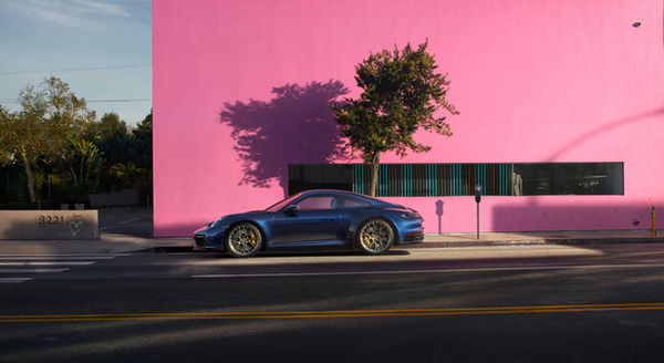 'Walls' ? Holger Wild photographs the new PORSCHE 911 for the agency Kemper Kommunikation in California, Spain and Amsterdam