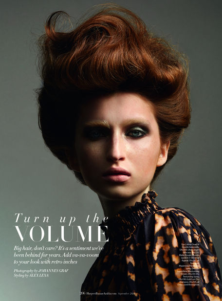 NEWS BLOG WINTELER PRODUCTION: EDITORIAL SHOOTING FOR HARPERS BAZAAR by Winteler Production