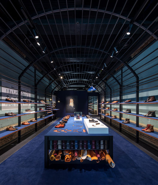 NEWS BLOG : Joseph Cheaney's new London store at Coal Drops Yard, designed by Checkland Kindleysides and photographed by MARCUS PEEL