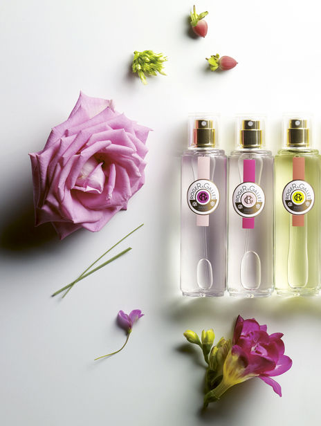 Alyssa Pizer Management, Los Angeles, presents perfume and care product creations from the company Roger&Gallet, photographed by still life specialist Stéphane Pelletier