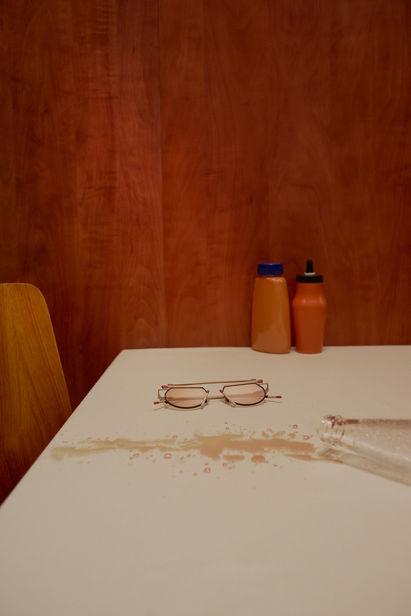 'Lost & Found' - personal work by photographer Ruben RIERMEIER c/o JULIA WALDMANN, styling: Ella Josephine Ebsen, set design: Kristin Baumann