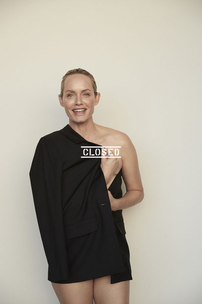 GLAM PRODUCTION : Actress, top model and not lastly eco-activist Amber Valletta is the star of the CLOSED S/S 2021 campaign, photographed by David Roemer