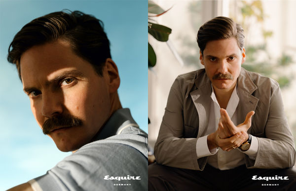 ?What we all have to do now is remain optimistic? - Robert Rieger photographs actor Daniel Brühl for ESQUIRE Germany - grooming by Mischka HART c/o BASICS BERLIN