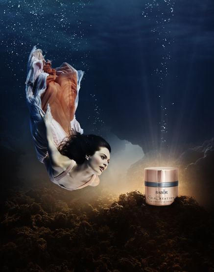 SUSANNE STEMMER - BABOR SEA CREATION worldwide campaign