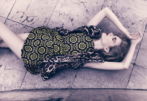 SUSANNE STEMMER - editorial for news exclusive