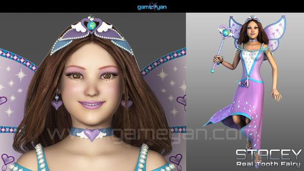 3D-Fee Cartoon Character Modeling-GameYan
