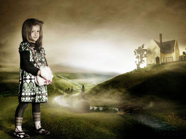 Kids Fashion Editorial for Presse Schaufenster