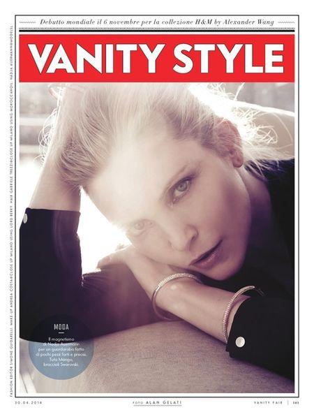 VIVA MODELS: Nadja Auermann for Vanity Fair Italy