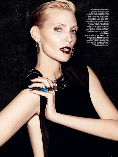 VIVA MODELS: Nadja Auermann for L'Express Style