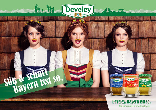 Develey Kampagne