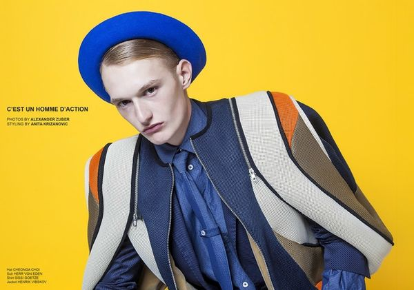 VIVA MODELS: Felix Janiak for Lui Magazine Italia January 2015