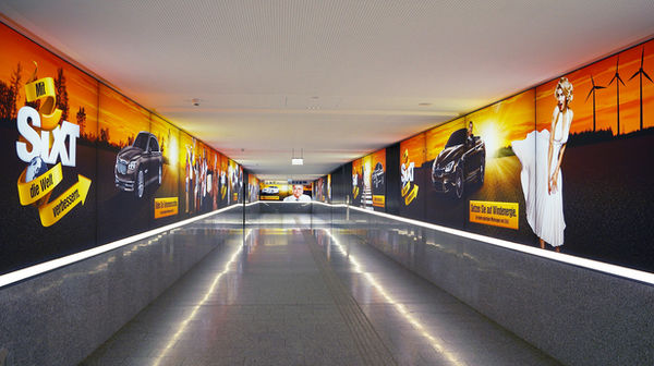 Sixt Airport Marketing