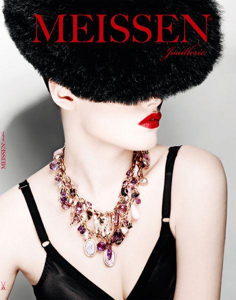 MONICA MENEZ for MEISSEN Joaillerie Magazine