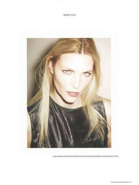 VIVA MODELS: Nadja Auermann for Self Service S/S 2014