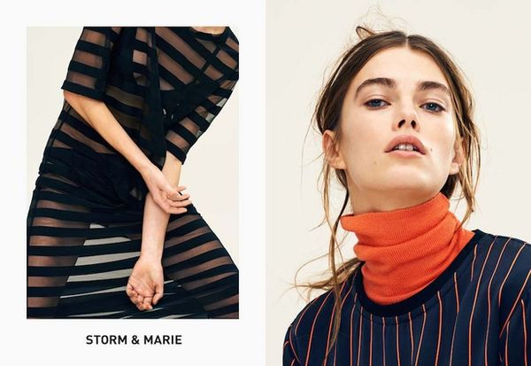 BLINK PRODUCTION : Sacha MARIC for STORM & MARIE AW15